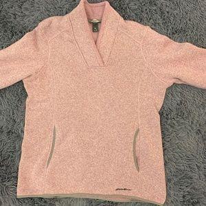 Eddie Bauer Pink Pullover Sweater XL